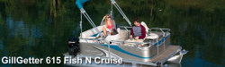 2015 - Gillgetter Pontoon Boats - 615 Fish N Cruise