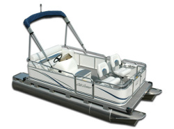 Gillgetter Pontoons 615 Fish-N-Cruise Pontoon Boat