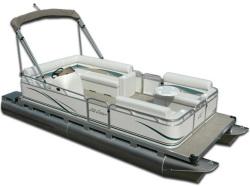 Gillgetter Pontoons 715 Cruise Deluxe Pontoon Boat