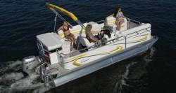 Gillgetter Pontoon Boats 718 RE Cruise