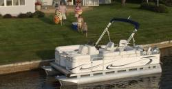 Gillgetter Pontoon Boats 718 XRE Fish