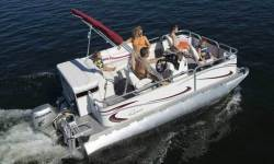 Gillgetter Pontoon Boats 720 RE Fish