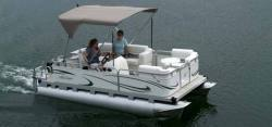 Gillgetter Pontoon Boats 718 Cruise Deluxe