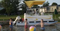Gillgetter Pontoon Boats 713 Standard