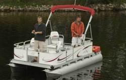Gillgetter Pontoon Boats 715 Tiller