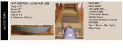 2014 - Grayman Boats - 1244J