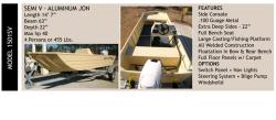 2017 - Grayman Boats - 1501SV