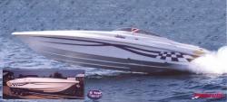 Grew Boats Challenger XLX 3100 Cuddy Cabin Boat