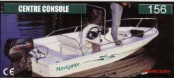 Grew Boats Navigator 156 Center Console Bowrider Boat