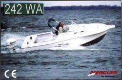 Grew Boats Navigator 242 Walkaround Bowrider Boat