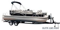 2017 - Hampton Pontoons - Elite 2285 Fish