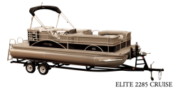 2018 - Hampton Pontoons - Elite 2285 Cruise