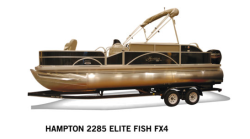 2018 - Hampton Pontoons - 2285 Elite FX4 Fish