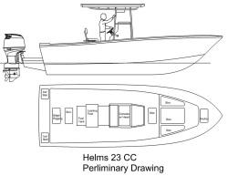 2015 - Helms Boats - Helms 23 CC