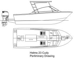 2015 - Helms Boats - Helms 23 Cuddy