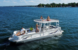 2014 - JC Pontoon Boats - TriToon Classic 306 IO