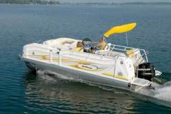 2009 - JC Pontoon Boats - TriToon Classic 226