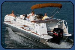 2009 - JC Pontoon Boats - TriToon Classic 246 IO