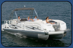 2009 - JC Pontoon Boats - TriToon Classic 266