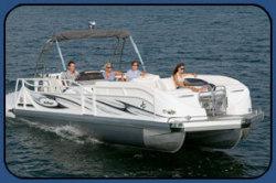 2009 - JC Pontoon Boats - TriToon Classic 266 IO