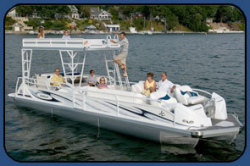 2009 - JC Pontoon Boats - TriToon Classic 306 IO