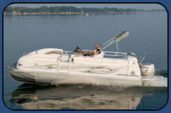 2009 - JC Pontoon Boats - SunToon 21 TT