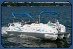 2009 - JC Pontoon Boats - SunToon 25 TT