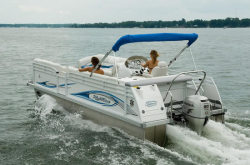 2009 - JC Pontoon Boats - NepToon 21 Sport TT