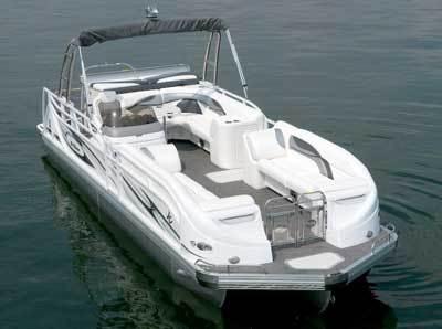 Research 2010 Jc Pontoon Boats Tri Toon Classic 266 Io