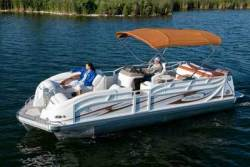 2011 - JC Pontoon Boats - TriToon Classic 246 IO