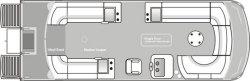 2011 - JC Pontoon Boats - SunLounger 25 TT Sport