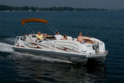 2012 - JC Pontoon Boats - TriToon 246 ob