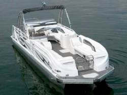 2012 - JC Pontoon Boats - TriToon 266 ob