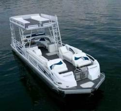 2012 - JC Pontoon Boats - TriToon 306 ob