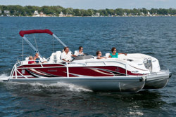 2012 - JC Pontoon Boats - TriToon 266 IO