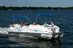 2012 - JC Pontoon Boats - SunToon 25 TT