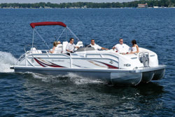 2012 - JC Pontoon Boats - SportToon 23 TT