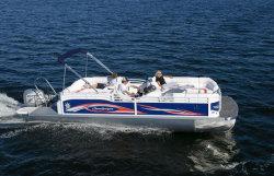 2012 - JC Pontoon Boats - SunLounger 27 TT Sport