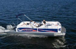 2013 - JC Pontoon Boats - SunLounger 27 TT