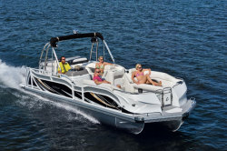 2014 - JC Pontoon Boats - TriToon Classic 266 IO