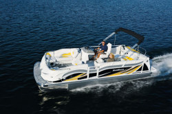 2014 - JC Pontoon Boats - SunToon 21 TT