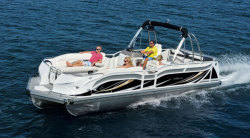 2014 - JC Pontoon Boats - TriToon Classic 266