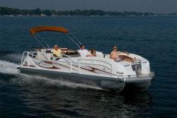 2014 - JC Pontoon Boats - TriToon Classic 246 IO