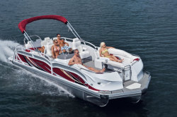 2015 - JC Pontoon Boats - TriToon Classic 246