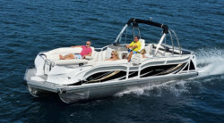 2015 - JC Pontoon Boats - TriToon Classic 266