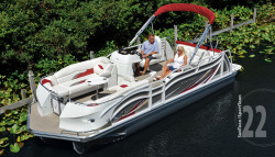 2015 - JC Pontoon Boats - SunToon 22TT