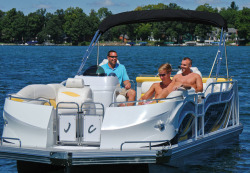 2015 - JC Pontoon Boats - TriToon Classic 226