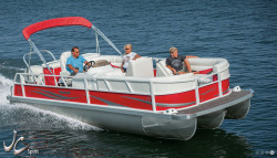 2015 - JC Pontoon Boats - Spirit 222