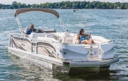 2017 - JC Pontoon Boats - Triton Classic 306 IO