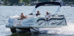 2017 - JC Pontoon Boats - Triton Classic 246 OB